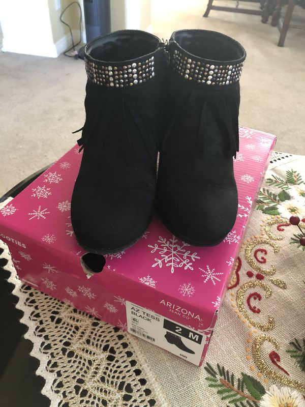 Boots for big girls size 2