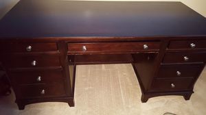 Desk with detachable shelf/cabinets hutch. Lots of storage for your home office! for Sale in San Diego, CA