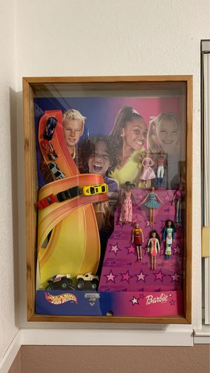 McDonald's toy collector case with poster for Sale in Ripon, CA