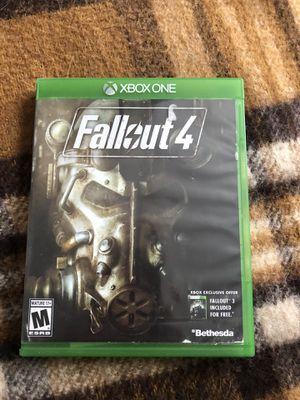 Fallout 4 - Xbox One for Sale in Washington, IL