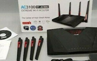 Asus AC3100 RT-AC88U Dual Band Gigabit WiFi Gaming Router for Sale in Rochester,  NY