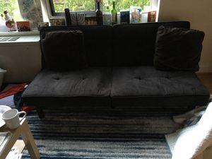 Black futon for Sale in Washington, DC