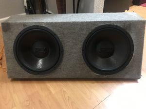 "MTX 12"" speaker box w/amp for Sale in Hayward, CA"