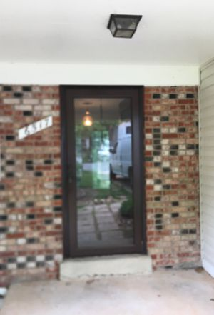 Full glass storm door for Sale in Fairfax Station, VA