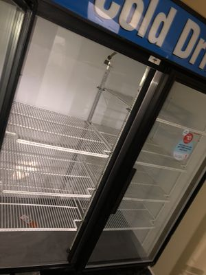 Cold Drinks Two Doors Refrigerator Clean $400 for Sale in Malden, MA