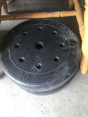 20 pound weights for Sale in Romeoville, IL