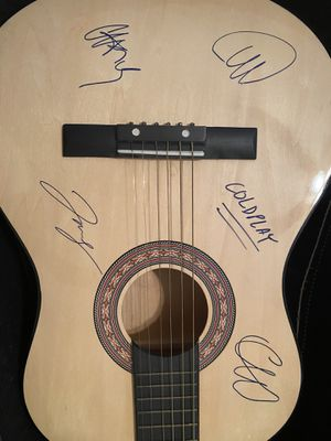 Coldplay signed guitar for Sale in Baltimore, MD
