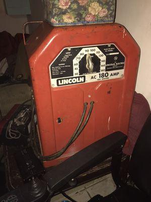 Lincoln AC-180-5 arc welder for Sale in Modesto, CA