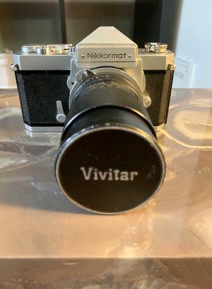 Nikon vintage film camera for Sale in Englewood, CO