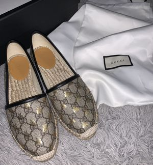 Gucci Logo Espadrille Flat for Sale in Fort Worth, TX
