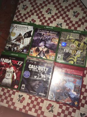 Games and controller for Sale in Durham, NC