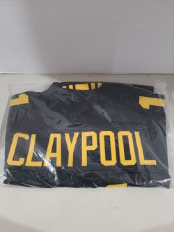 Chase Claypool Autographed Pittsburgh Steelers Black Football Jersey Beckett for Sale in Denver, CO