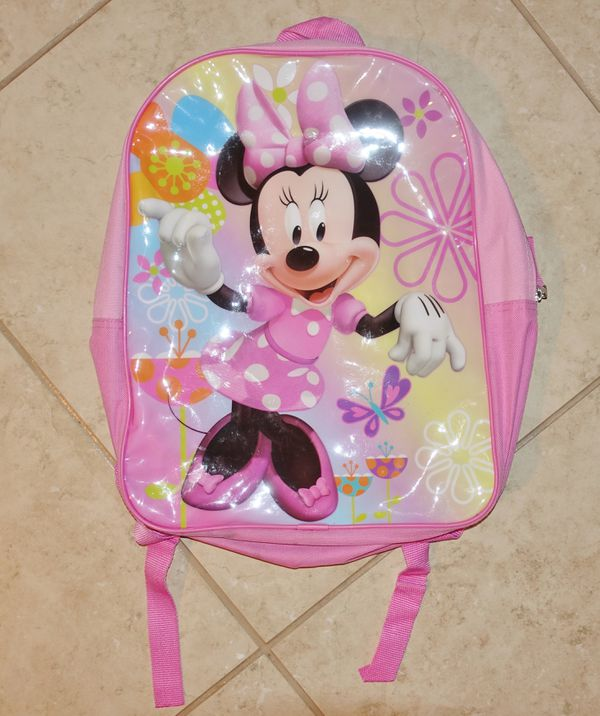 $1 — used Minnie Mouse school backpack