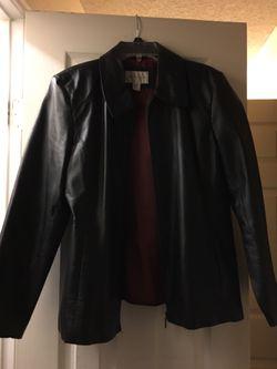 Worthington leather blazer for Sale in Tuscola,  TX