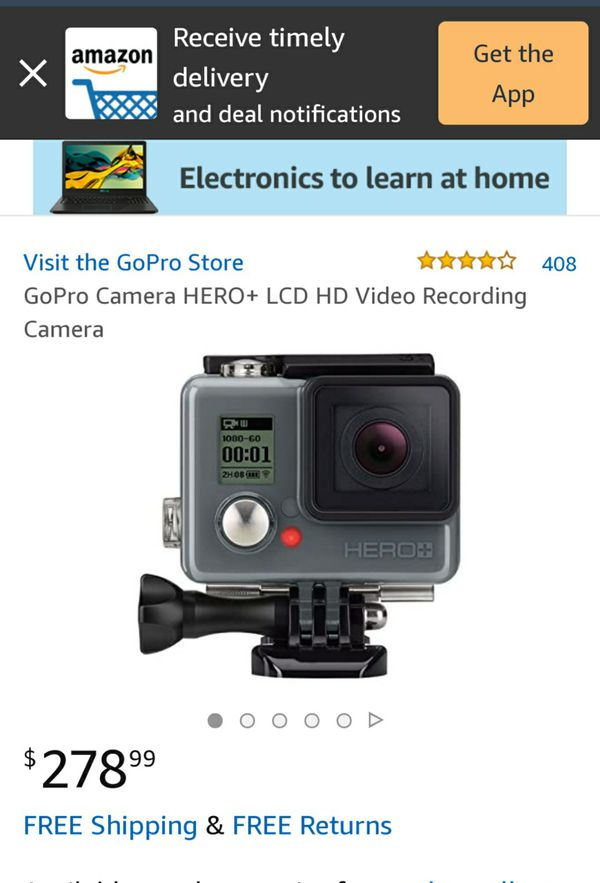 Gopro Hero+ Plus can connect with your smartphone