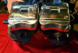 Harley Davidson sportster 883 1200 chrome cylinder heads and rockerbox kit for Sale in Columbia, MO