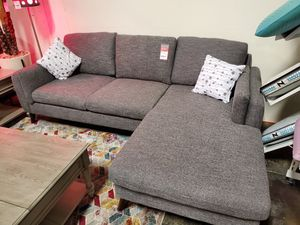 Sectional Sofa, Light Gray for Sale in Fountain Valley, CA
