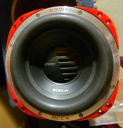 """10 inch orion hcca subwoofer dual 4 ohm 4"""" voice coils NEW for Sale in ROWLAND HGHTS,  CA"""