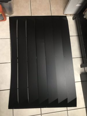 Used, 2005 2006 2007 2008 2009 05 06 07 08 09 Ford Mustang GT V6 Rear Window Louvers - Smooth Aluminum for Sale for sale  Long Beach, CA
