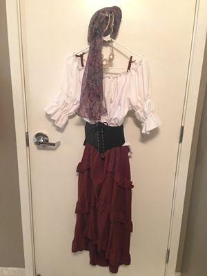 Pirate / Gypsy costume for Sale in San Diego, CA