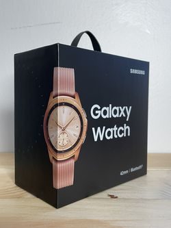 Samsung Galaxy Watch (42mm, GPS, Bluetooth) – Rose Gold for Sale in Reisterstown,  MD