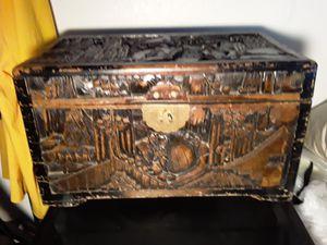 Antique Chinese chest box for Sale in Los Angeles, CA