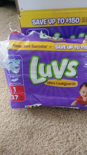 Size 1 diapers for Sale in Mount Pleasant, UT