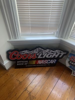 Coor Light Beer Wall sign, lights up for Sale in Providence, RI