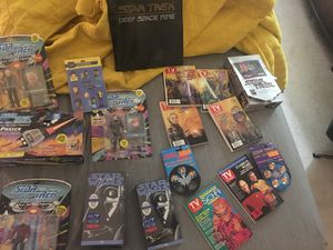 Various Star Trek and Star Wars collectibles for Sale in Houston, TX