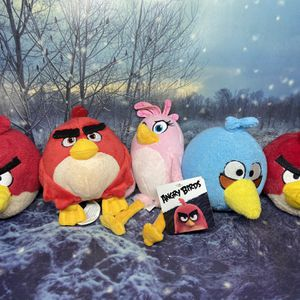Angry Birds Plush Lot Set for Sale in Lakewood, CA