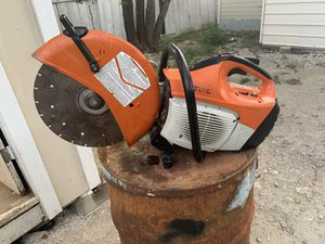 Stihl ts420 concrete saw 14 in blade for Sale in Dallas, TX