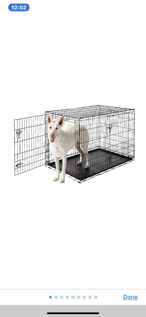 48inch Dog Crate with Cover for Sale in Los Angeles, CA