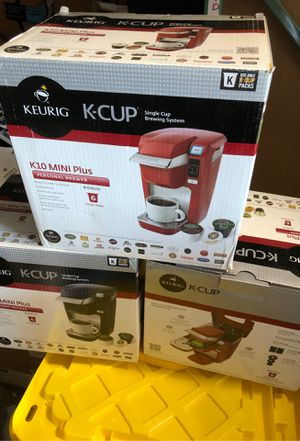 Keurig K-Cup K10 Mini Plus Personal Brewer for Sale in Vienna, VA