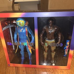 """Cactus Jack for Fortnite 12"""" Action Figure Duo Set for Sale in Queens, NY"""