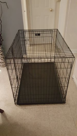 Large pet crate for Sale in Charlestown, MA