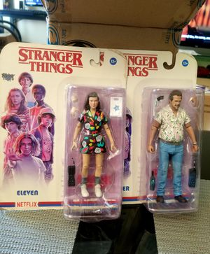 Mcfarlane Stranger Things 3 - Action Figure SET of Two for Sale in Los Angeles, CA