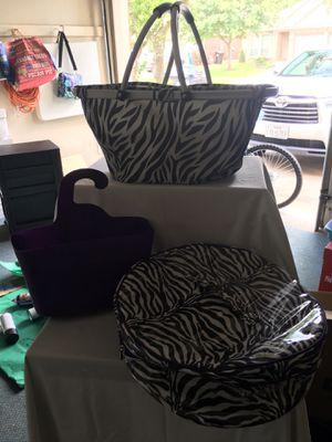 Zebra print decor for Sale in Houston, TX