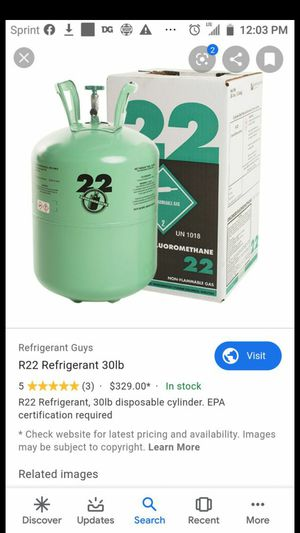 R22 freon for Sale in Arlington, TX