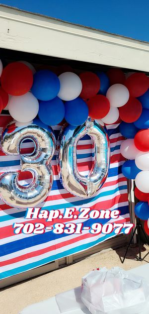 4th of July Balloon Garland Party Decor for Sale in Las Vegas, NV