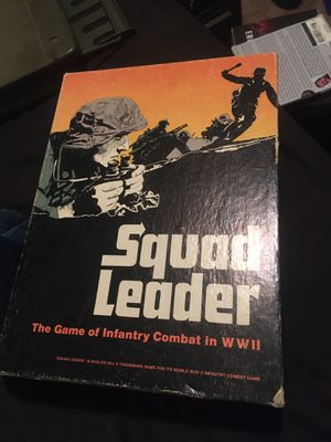 Squad Leader ww2 board game for Sale in Camas, WA