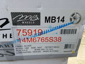 Jeep offers 38mm set of 4 rims for Sale in Pittsburgh, PA