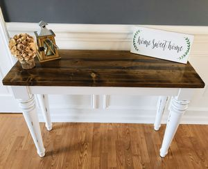 Sofa - Foyer - Side table for Sale in Clayton, NC