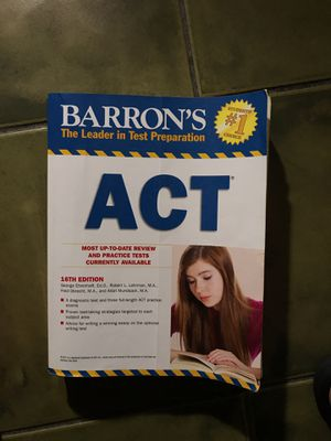 Used ACT Prep book for Sale in Hialeah, FL