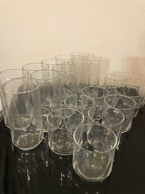 20 piece glassware for Sale in Manassas, VA
