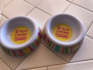 Small dog bowls for Sale in Las Vegas, NV