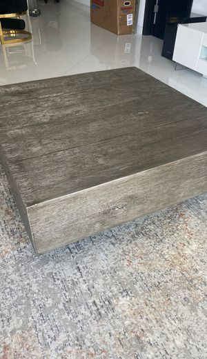 """ZGALLERIE Timber Coffee Table, 14.75""""H X 44""""W X 44""""D for Sale in Miami Beach, FL"""