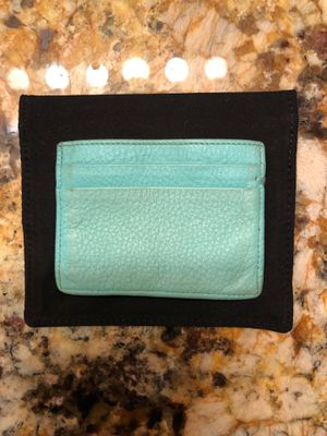 Tiffany & Co. Leather Card Case for Sale in Cleveland, OH