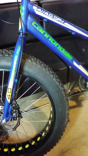 Cannondale fat tire bike,,,,,,,sweet ride for Sale in Portland, OR