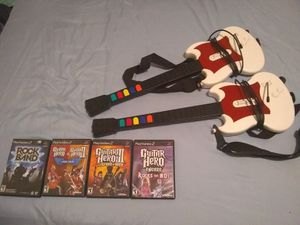 PS2 Guitar Hero Bundle [rare] for Sale in Lynchburg, VA
