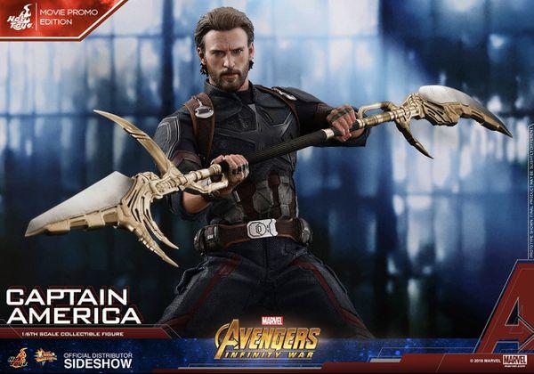 Sideshow hot toys captain America 1/6 Figure new marvel movie promo